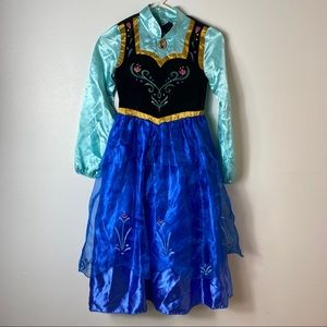 Disney Frozen Anna Costume Sz 9/10